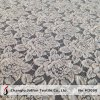 Tela grossa do laço da flor do algodão para o vestuário (M3090)