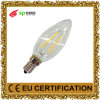 LEDの蝋燭の形のフィラメントの照明ランプ