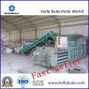 Horizontal hydraulique Baler pour Plastic avec du CE
