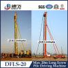 Machine employée couramment d'entraînement de pile, matériel de construction de base Dfls-20