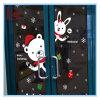 Autoadesivo e decalcomanie decorativi della parete dell'orso di natale smontabile per la finestra ed il portello del negozio