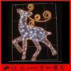 옥외 크리스마스 훈장 LED 순록 주제 빛