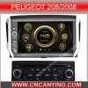 GPSのPeugeot 208/2008、Bluetoothのための特別なCar DVD Player。 (CY-7191)