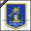 Qualità Golden Woven Badge per Iron su Garment (BYH-10196)