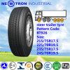 Hochgeschwindigkeitsc$lang-abstand Steer Trailer Truck Tyre 215/75r17.5