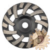 Furacão Shallow Type Diamond Cup Grinding Wheels para Medium Floor Grinding