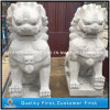 정원 Animal Statue를 위한 돌 Granite Marble Lion Sculpture