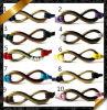 Bronzeunbegrenztheits-Armband, Armband-Schmucksachen, lederne Armband-Schmucksachen (FB0120)