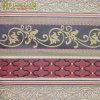 Tissu de tapisserie d'ameublement floral classique de polyester de jacquard de piste
