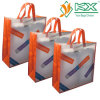 Fashion stratifié pp Non-Woven Carrier Bags pour Shopping