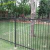 2 recinti di picchetto di alluminio residenziali del recinto ornamentale del ferro della guida (XM3-29)