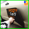 Crear la etiqueta engomada adhesiva publicitaria magnética del coche para requisitos particulares