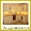 Stone naturale Polished Yellow Wooden Marble Countertop per Kitchen/Bathroom (YQC)