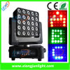 25X12W RGB-W Matrix LED Moving Head DJ Equipment
