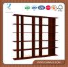 ' Soporte de visualización de madera ancho del almacén de la góndola 6 modificados para requisitos particulares