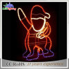 Luces decorativas de la Navidad del regalo LED de la Navidad de Papá Noel del día de fiesta