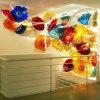 De opgeblazen Hangende Platen van de Muur van het Glas Murano
