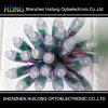 Luz del pixel del RGB LED del regulador de la luz de la Navidad 12m m IP65 IC