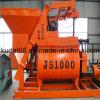 1000L eléctrica de dos mezcladores horizontales Ejes (JS1000)