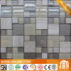 Graues Stone Marble und Glass Mosaic für Entrance Decoration (M855079)