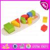 Il gioco educativo di puzzle del giocattolo 2015, formato d'apprendimento manipolativo di figura della scheda primaria di puzzle, colora Playboard d'ordinamento geometrico W13e048