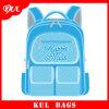 (KL1003)ランドセルの青いキャンバスの学校のバックパックの新しいモデルの製造業者