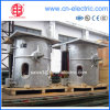 Shell di alluminio Coreless Medium Frequency Induction Melting Furnace per Steel/Iron Melting