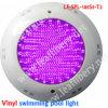 L'illuminazione concreta della piscina, l'indicatore luminoso del raggruppamento della vetroresina, fodera di vinile riunisce la lampada