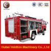 Camion dei vigili del fuoco del telaio 4*2 di colore rosso 145 di Dongfeng di prezzi bassi