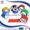 Einfacher Riss verwendet für die Verpackung des kundenspezifischen Firmenzeichen-Gummi-Bandes