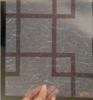 Film décoratif de fenêtre de PVC, bâche décorative de film de fenêtre