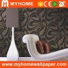 Decoración grabada venta al por mayor del hogar del papel pintado (80208)