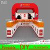 Présentoir réutilisable portatif de stand de salon de cabine d'exposition