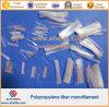 Fibra concreta del monofilamento del polipropileno de la adición