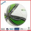 Boule de football blanche et verte de qualité