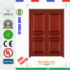 Double Panel Wooden Entrance Door