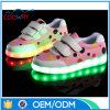 LEDが付いている安い価格のキャンバスの子供の靴はつく