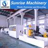 Tubulação plástica do PVC que faz o sistema elétrico importado maquinaria
