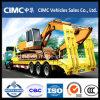 Welle Cimc 3 70 Tonnen Hochleistungsgeräten-Transport-niedrige Bett-Schlussteil-für Algerien