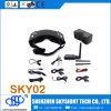 Hubsan H109s X4のためのHead Tacing+DVRのSkyzone Fpv 3D 40CH Diversity Aio Video Goggles Sky02