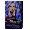 cosmético brilhante do creme da cor do cabelo da faísca 3D