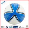 Le football bleu de cuir de formation de plage