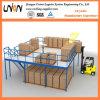 Sistema de la plataforma de la estructura de acero de la alta calidad en almacenaje