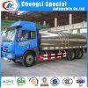 Le transport de réservoir à lait d'acier inoxydable troque 5tons à vendre