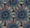 Printing floreale Crinkle Oxford Polyester Fabric con l'unità di elaborazione