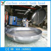 Cabeça do prato do aço de carbono para o tanque de gás