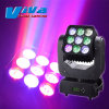 discoteca Light di 9X10W 4in1 RGBW Beam LED Matrix Moving Head
