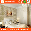 ¡Venta caliente! ¡! Papel pintado blanco 3D del dormitorio