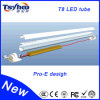 Body di alluminio Material 18W 4ft T8 LED Light Tube