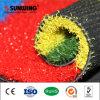 China, Nueva Bienvenido sintético del arco iris del césped para jardín